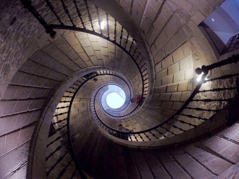 escalera Santiago de Compostela